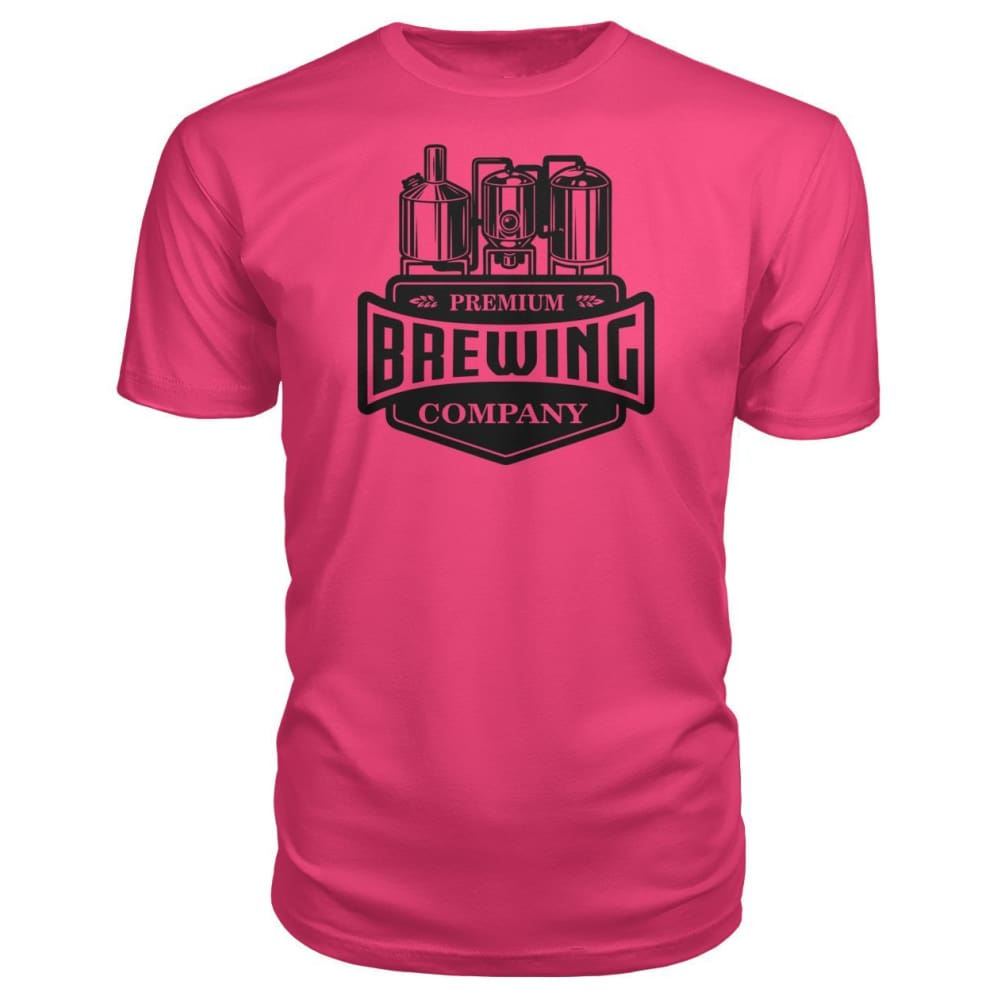 Brewing Company Premium Tee - Hot Pink / S - Short Sleeves
