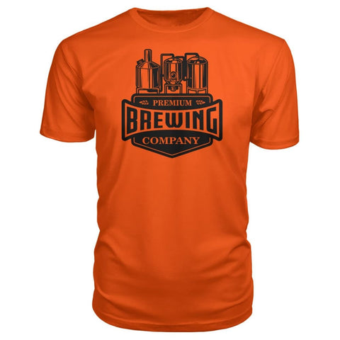 Image of Brewing Company Premium Tee - Orange / S - Short Sleeves