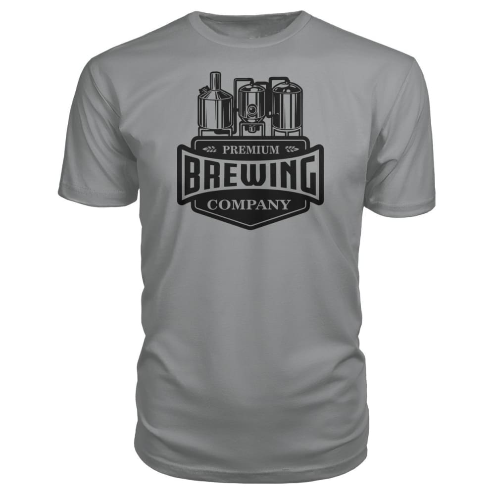 Brewing Company Premium Tee - Storm Grey / S - Short Sleeves