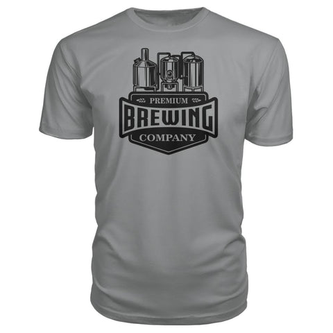 Image of Brewing Company Premium Tee - Storm Grey / S - Short Sleeves