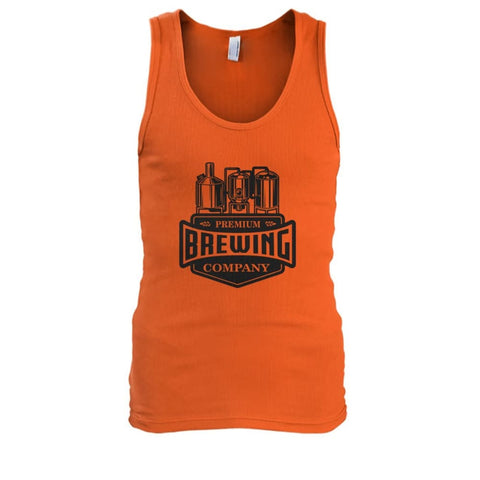 Image of Brewing Company Tank - Orange / S - Tank Tops