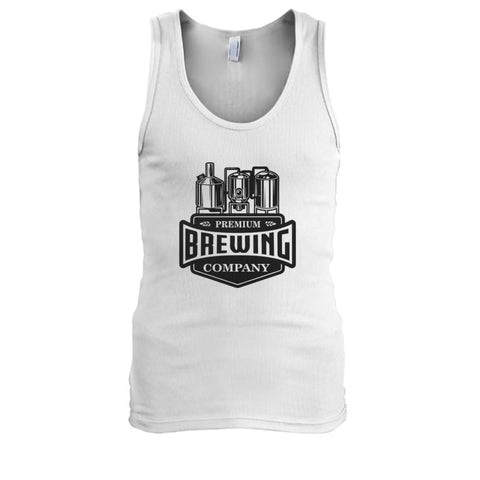 Image of Brewing Company Tank - White / S - Tank Tops