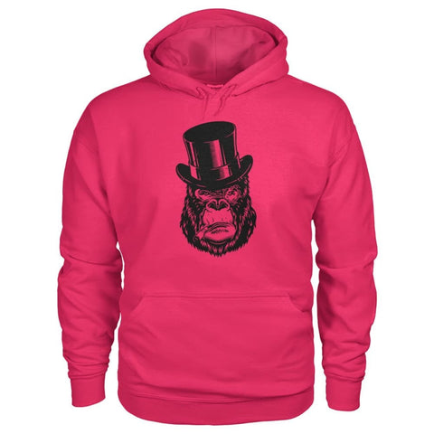 Image of Classy Gorilla Hoodie - Heliconia / S - Hoodies