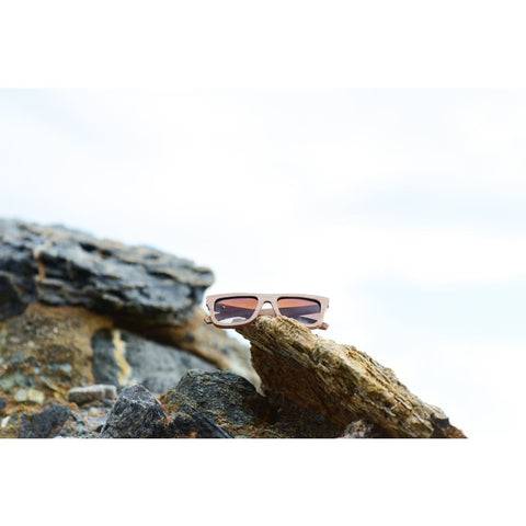Image of Del Mar Wood Sunglasses by Jonny B - Sunglasses