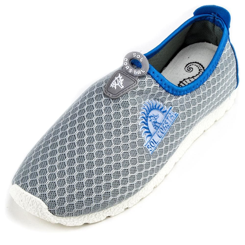 Grey Womens Shore Runner Water Shoes Size 7 - Beach Gear