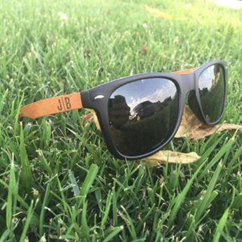 Image of Huntington Wood Sunglasses by Jonny B - Plastic Frames - Sunglasses