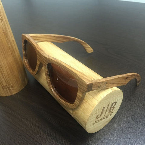 Laguna Wood Sunglasses by Jonny B - Sunglasses