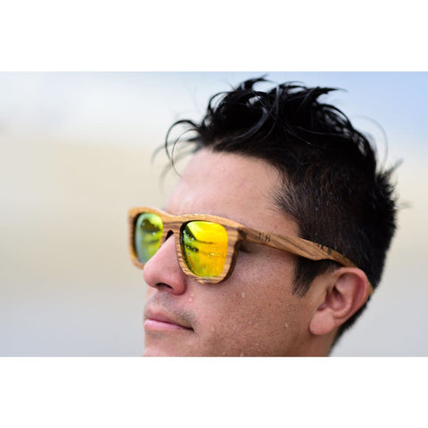 Image of Laguna Wood Sunglasses by Jonny B - Sunglasses