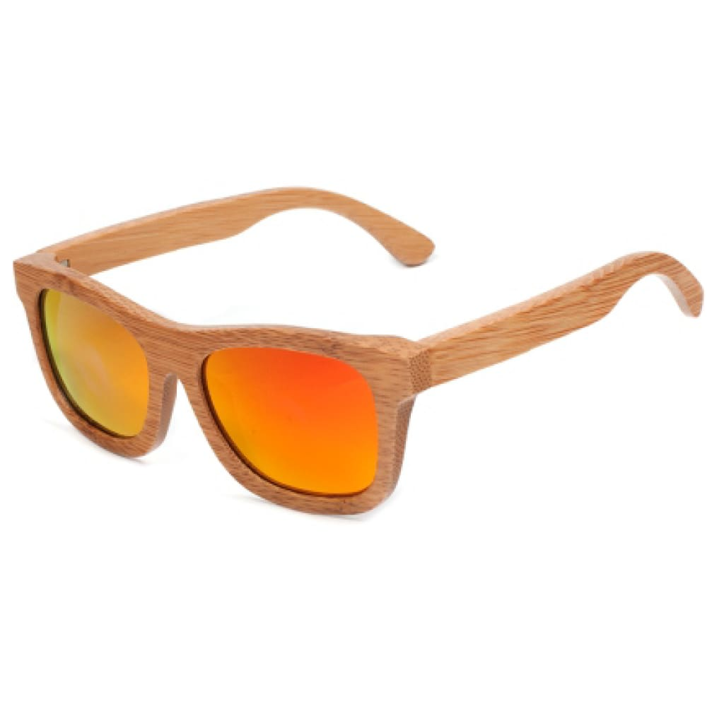 Laguna Wood Sunglasses by Jonny B - Sunfire - Sunglasses