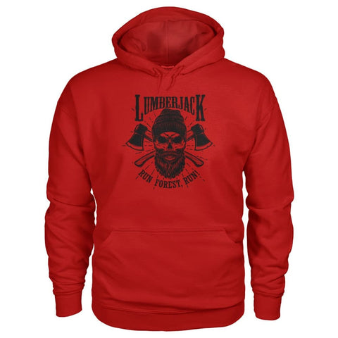 Image of Lumberjack Hoodie - Cherry Red / S - Hoodies