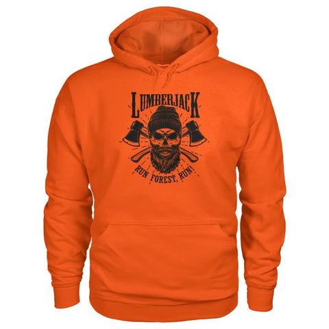 Image of Lumberjack Hoodie - Orange / S - Hoodies