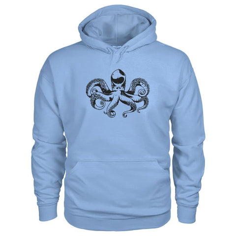 Image of Octopus Hoodie - Light Blue / S - Hoodies
