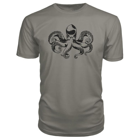 Image of Octopus Premium Tee - Charcoal / S - Short Sleeves