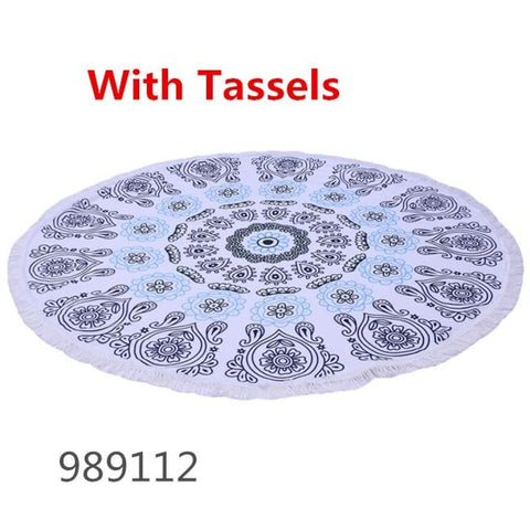 Image of Round Towel - 989112 - Towel