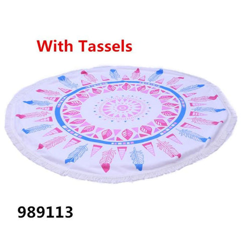 Image of Round Towel - 989113_4 - Towel