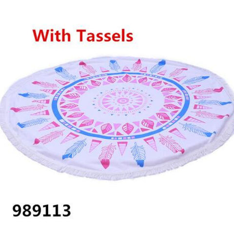 Image of Round Towel - 989113_5 - Towel