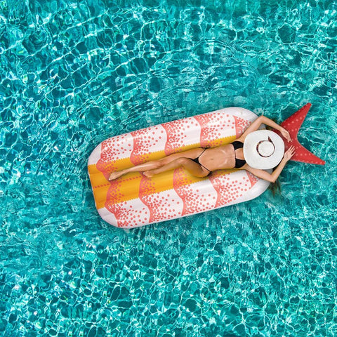Shrimp Sushi Inflatable Pool Float - Beach Gear