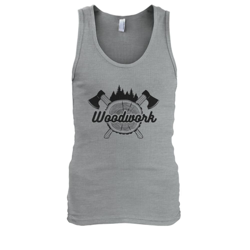 Woodwork Tank - Sport Grey / S - Tank Tops