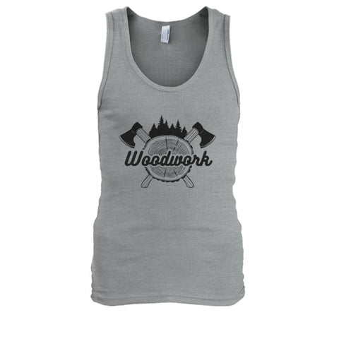 Image of Woodwork Tank - Sport Grey / S - Tank Tops