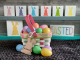Easter Basket tags.