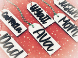 Christmas Stocking Tags