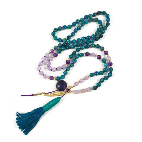 Golden Lotus Mala