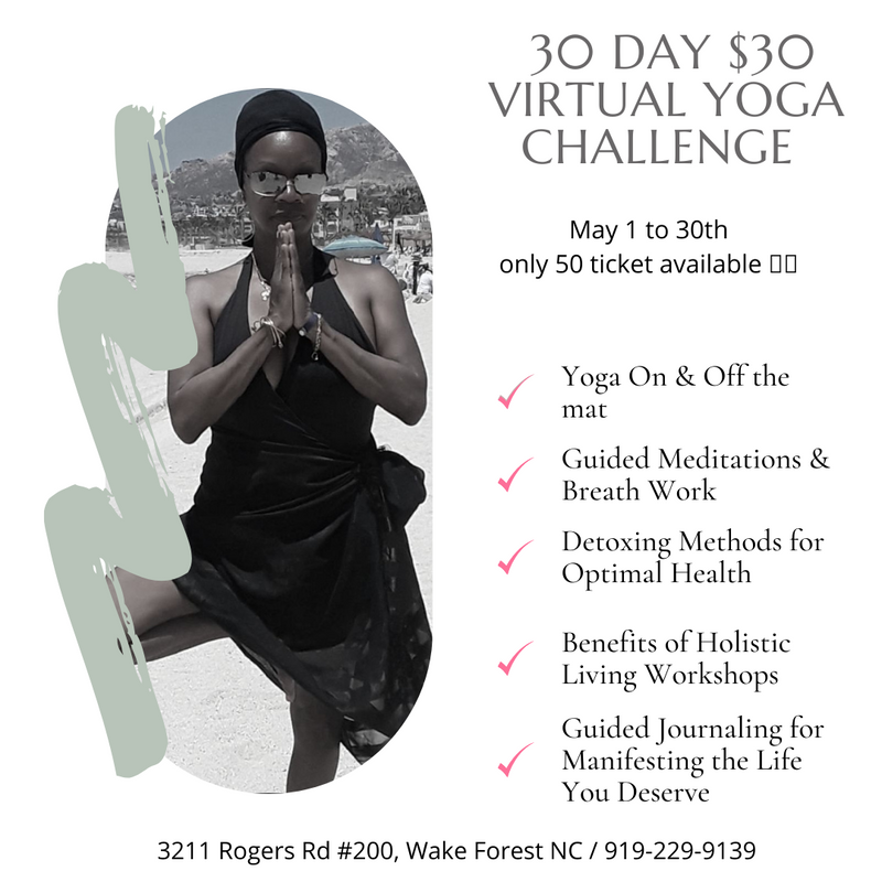 30 Day $30 Yoga Challange