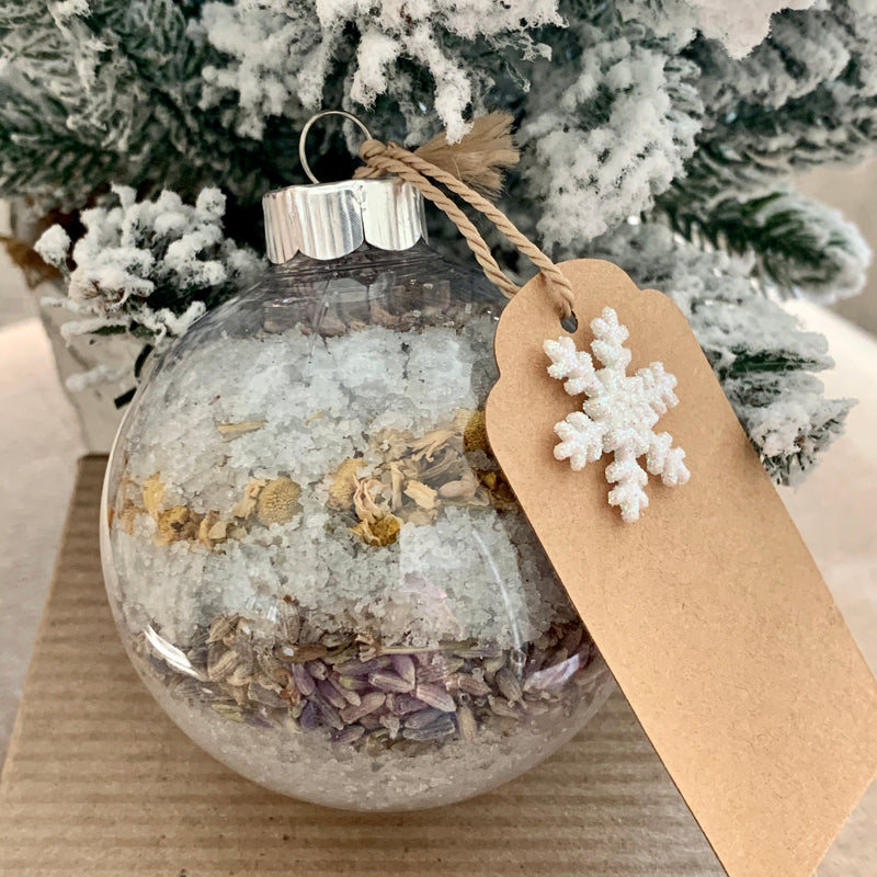 Large Artisan Bath Salts Ornaments
