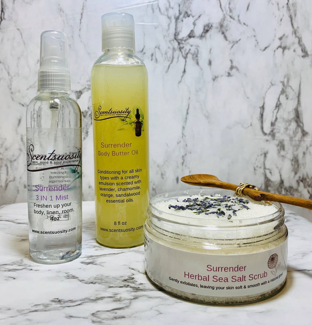 Surrender Body Care Collection