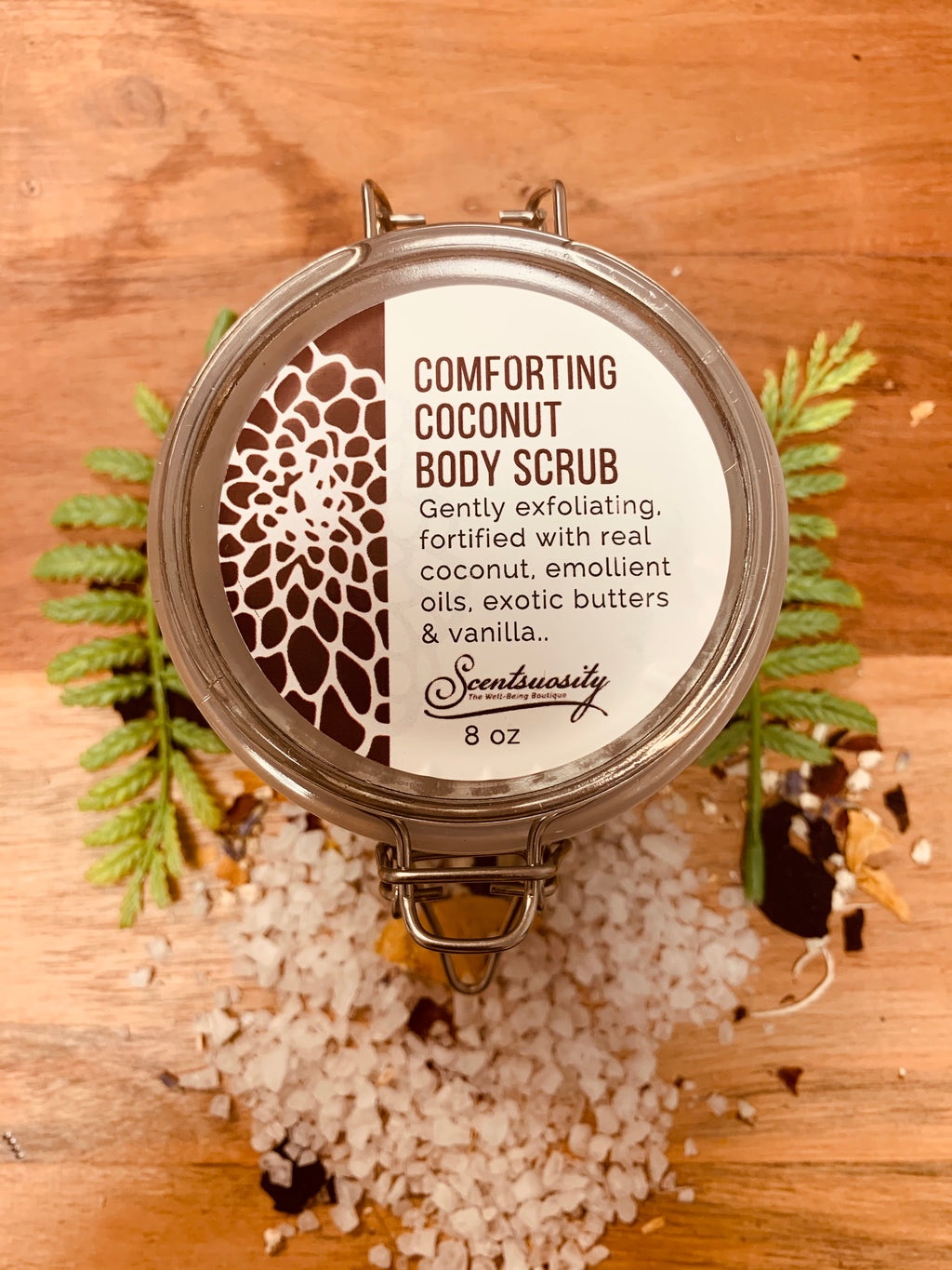 Comforting Coconut Body Butter Scrub