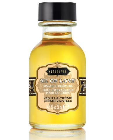 Kama Sutra Oil of Love - .75 oz Vanilla Creme