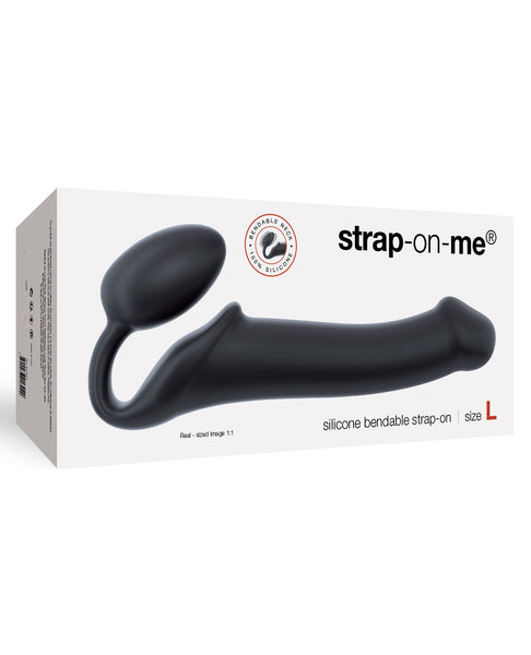 Strap On Me Silicone Bendable Strapless Strap On Large - Black