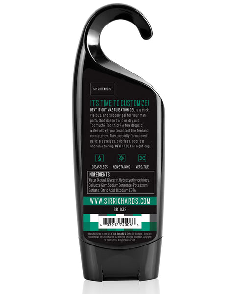 Sir Richard's Soak N' Stroke Beat It Out Shower Masturbation Gel - 8 oz.