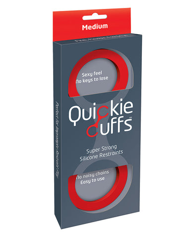 Quickie Cuffs Medium - Red