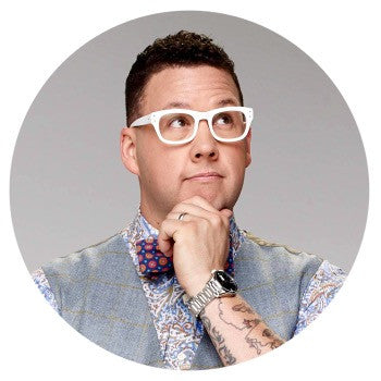 graham elliot photo button