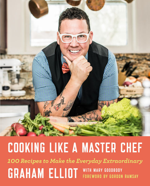 personalized / signed graham elliot cookbook