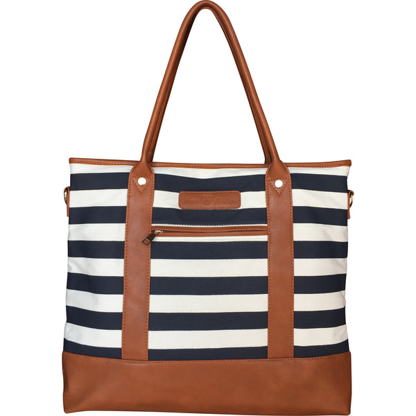 Alex Diaper Bag Navy & White by Mama Martina - Mama Martina - 1