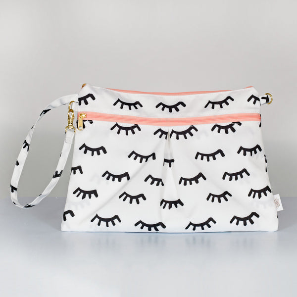 Logan and Lenora Wristlet Clutch - Lashes