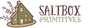 Saltbox Primitives Maine House with Star