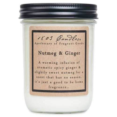 1803 Candle: Nutmeg & Ginger
