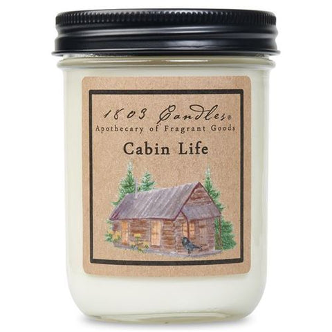 1803 Candle: Cabin Life