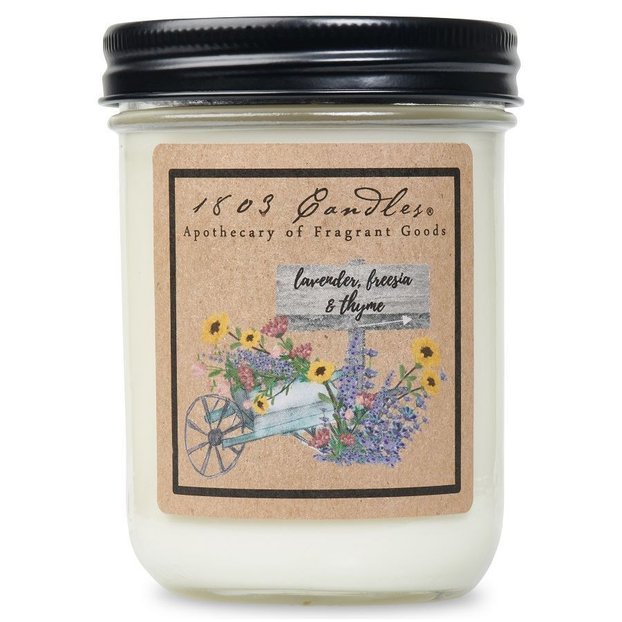 1803 Candle: Lavender, Freesia & Thyme