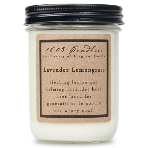 1803 Candle: Lavender Lemongrass
