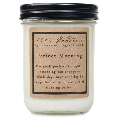 1803 Candle: Perfect Morning
