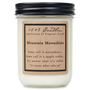 1803 Candle: Mountain Moonshine