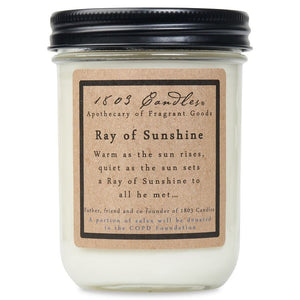 1803 Candle: Ray Of Sunshine