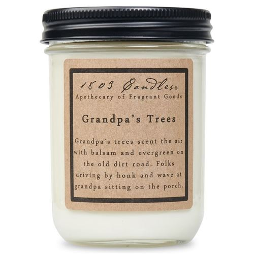 1803 Candle: Grandpa's Trees