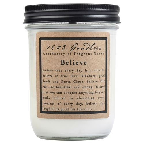 1803 Candle: Believe