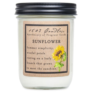 1803 Candle: Sunflower