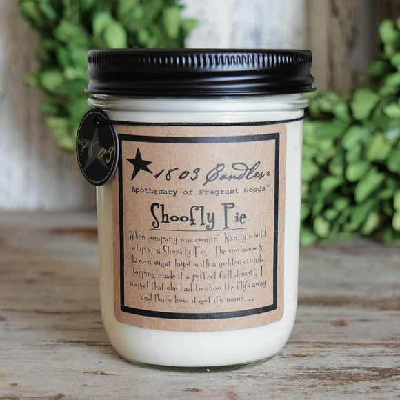 1803 Candle: Shoofly Pie
